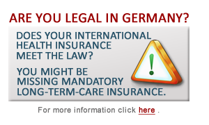 In Germany long than 60 months but still valid Long-Term Care Insurance? ERICON broker has the solution.